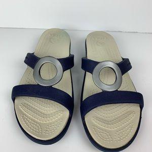Crocs Sanrah Ring Slide Sandals